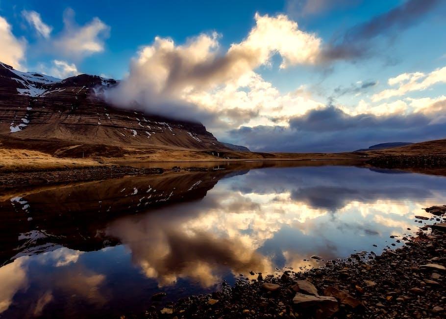 New free stock photo of iceland, snow, dawn