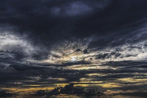 傍晚的天空, 光, 地平線, 天性 的 免费素材照片