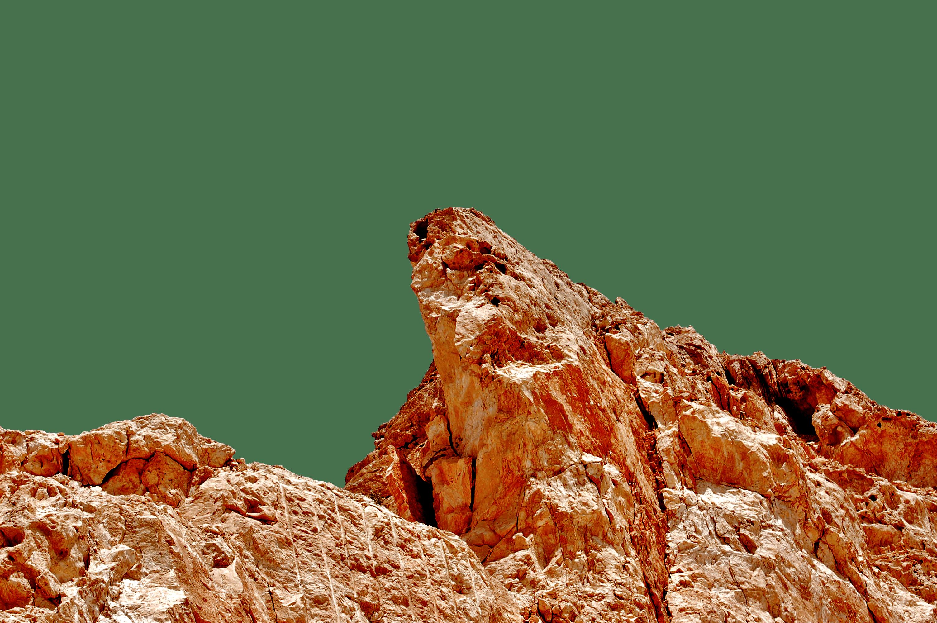 Beige Land Formation
