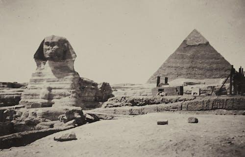 Бесплатное стоковое фото с Археология, большой сфинкс, винтажное фото