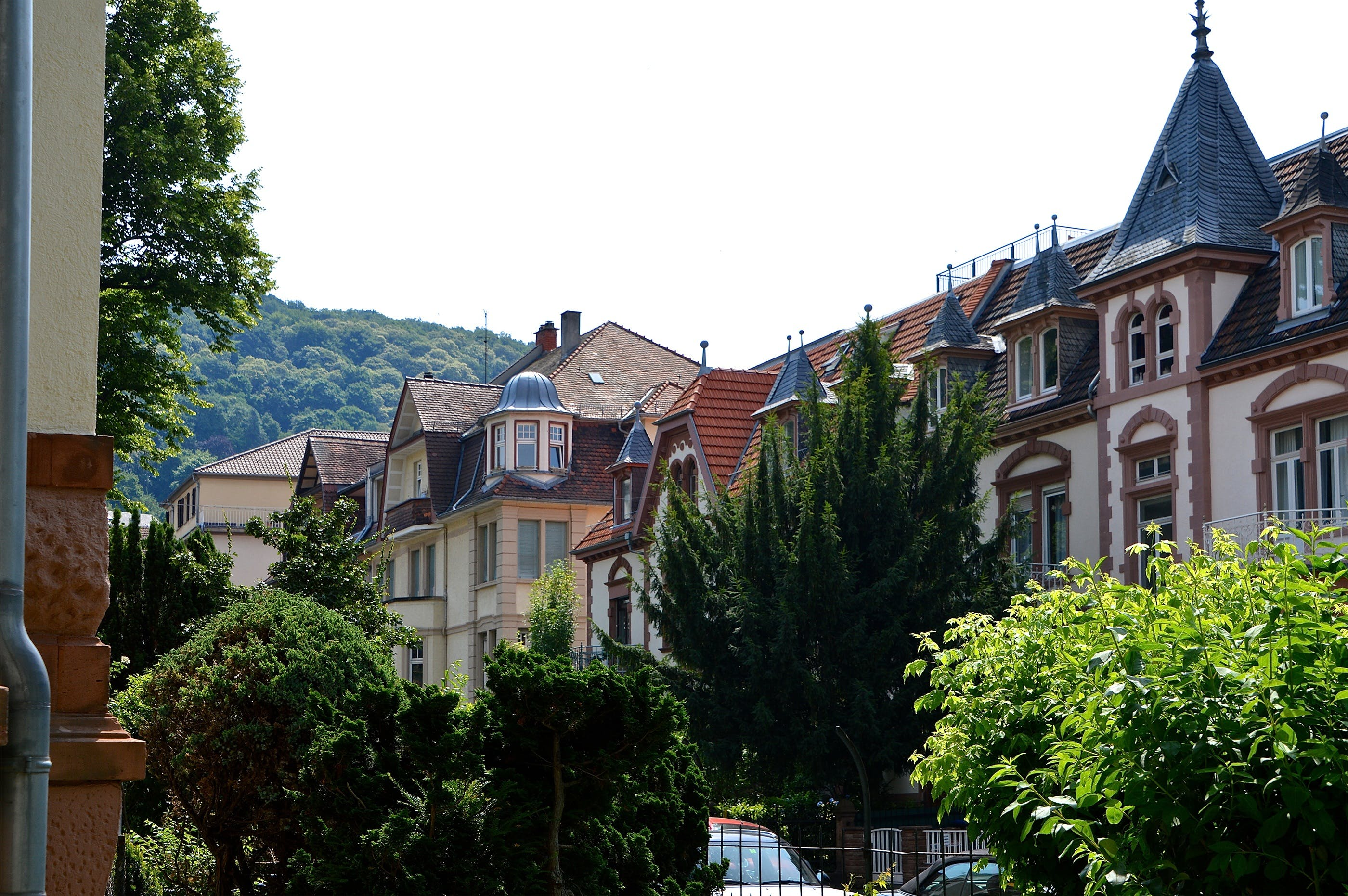 Panoramic Photo of Houses