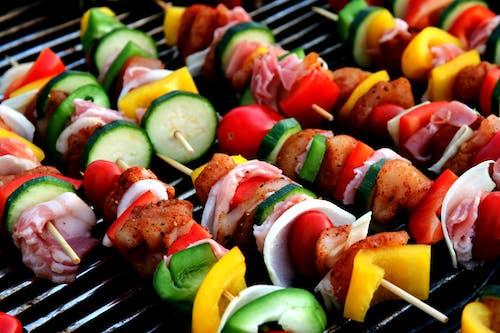 Foto d'estoc gratuïta de barbacoa, carn, colorit, cuinar a la barbacoa