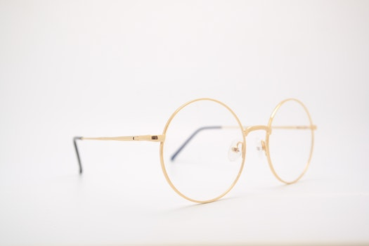 Gold Frame Eyeglasses