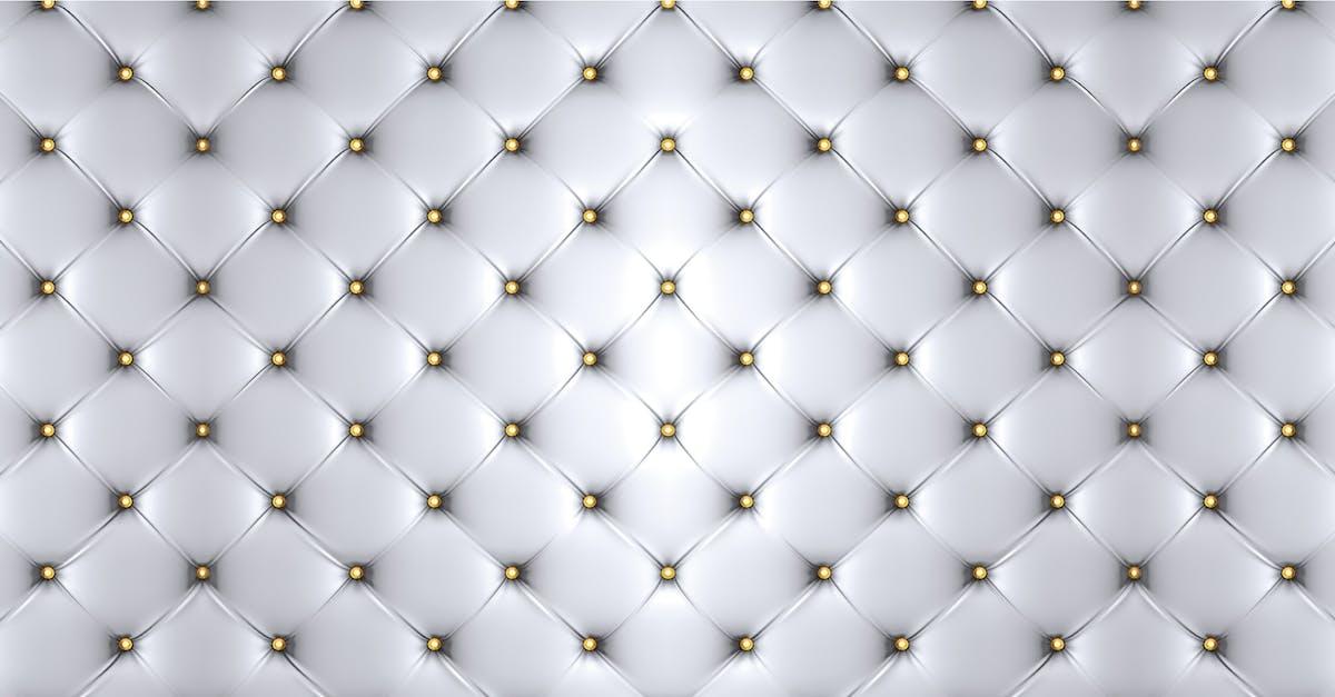 White Cushion Headboard