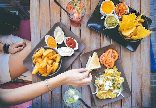 Kostenloses Stock Foto zu essen, salat, restaurant, person