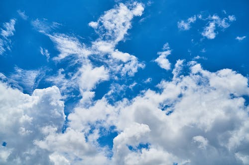 Darmowe zdjęcie z galerii z atmosfera, białe chmury, biały, chmury