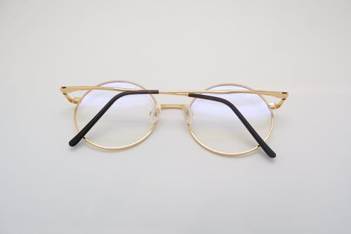 Gold Framed Eye Glasses