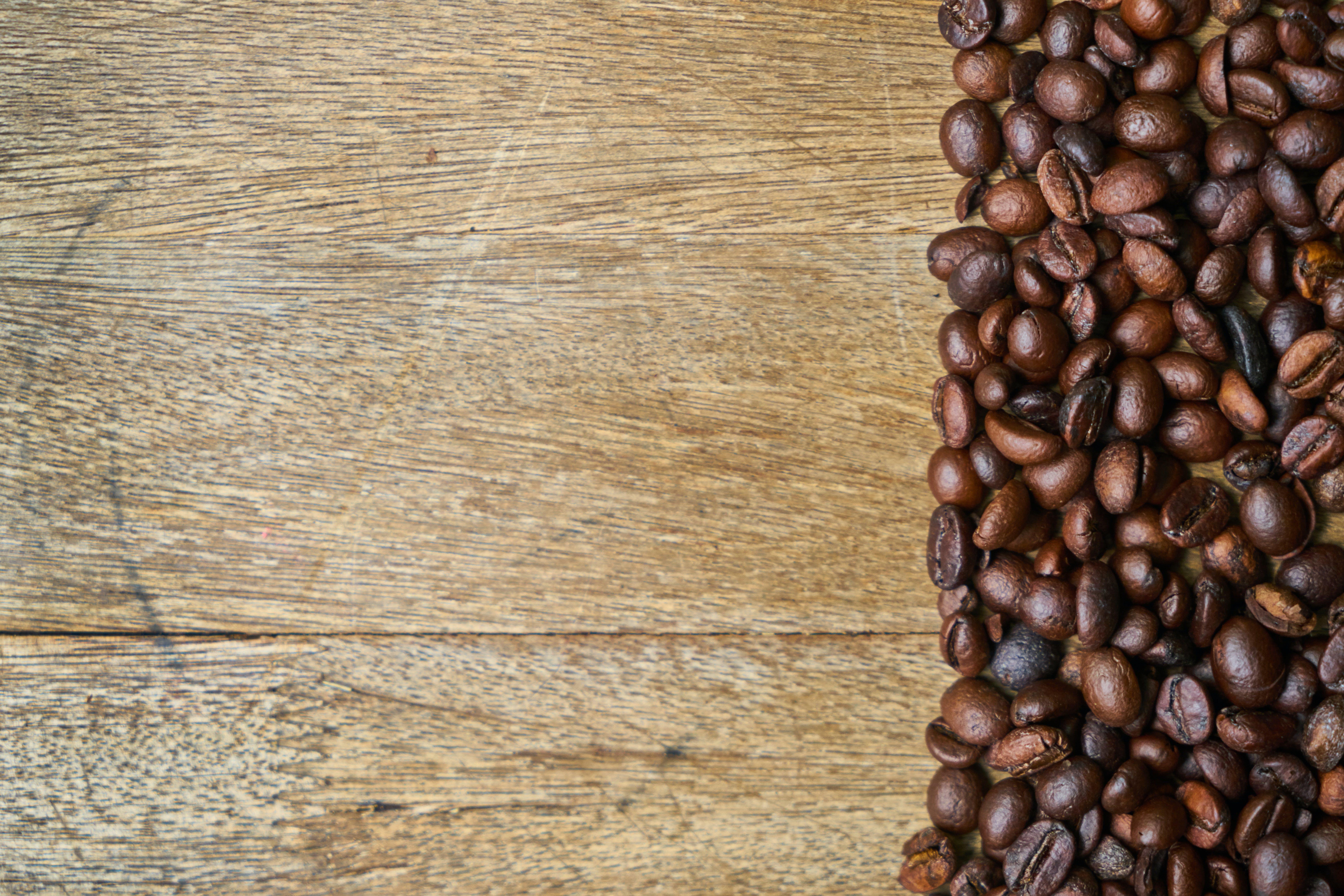 brown, caffeine, coffee