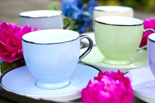 咖啡杯, 宏觀, 小碟子, 小茶碟 的 免費圖庫相片