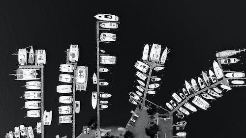 Foto profissional grátis de água, barcos, botes