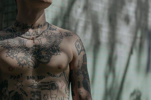 Δωρεάν στοκ φωτογραφιών με abs, tattoo, άθλημα