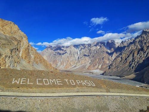 Free stock photo of beautiful sky, blue sky, landscape, mountains