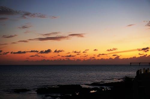 Kostnadsfri bild av moln himmel, Sunglow