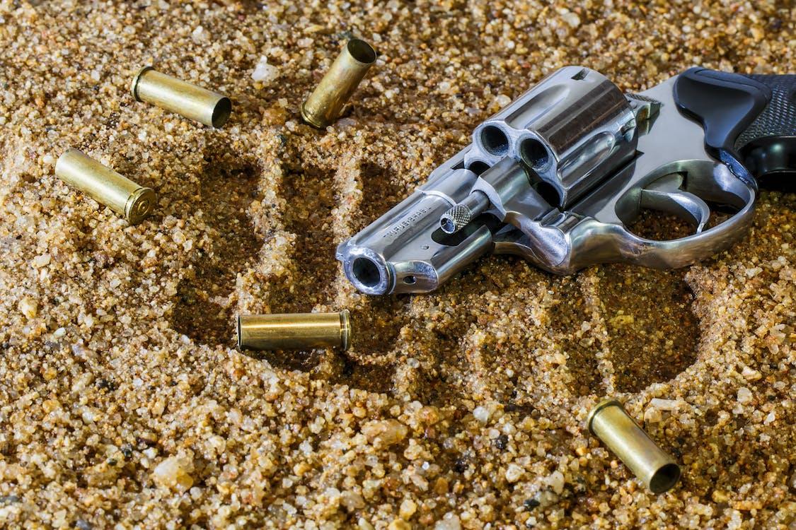 farlig, kugler, pistol