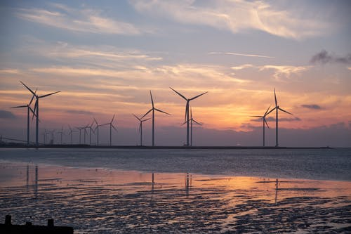 Wind Turbine Landscape Photography