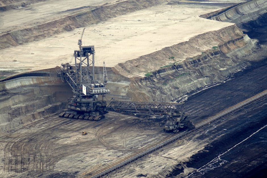 brown coal, brown coal mining, bucket wheel excavators