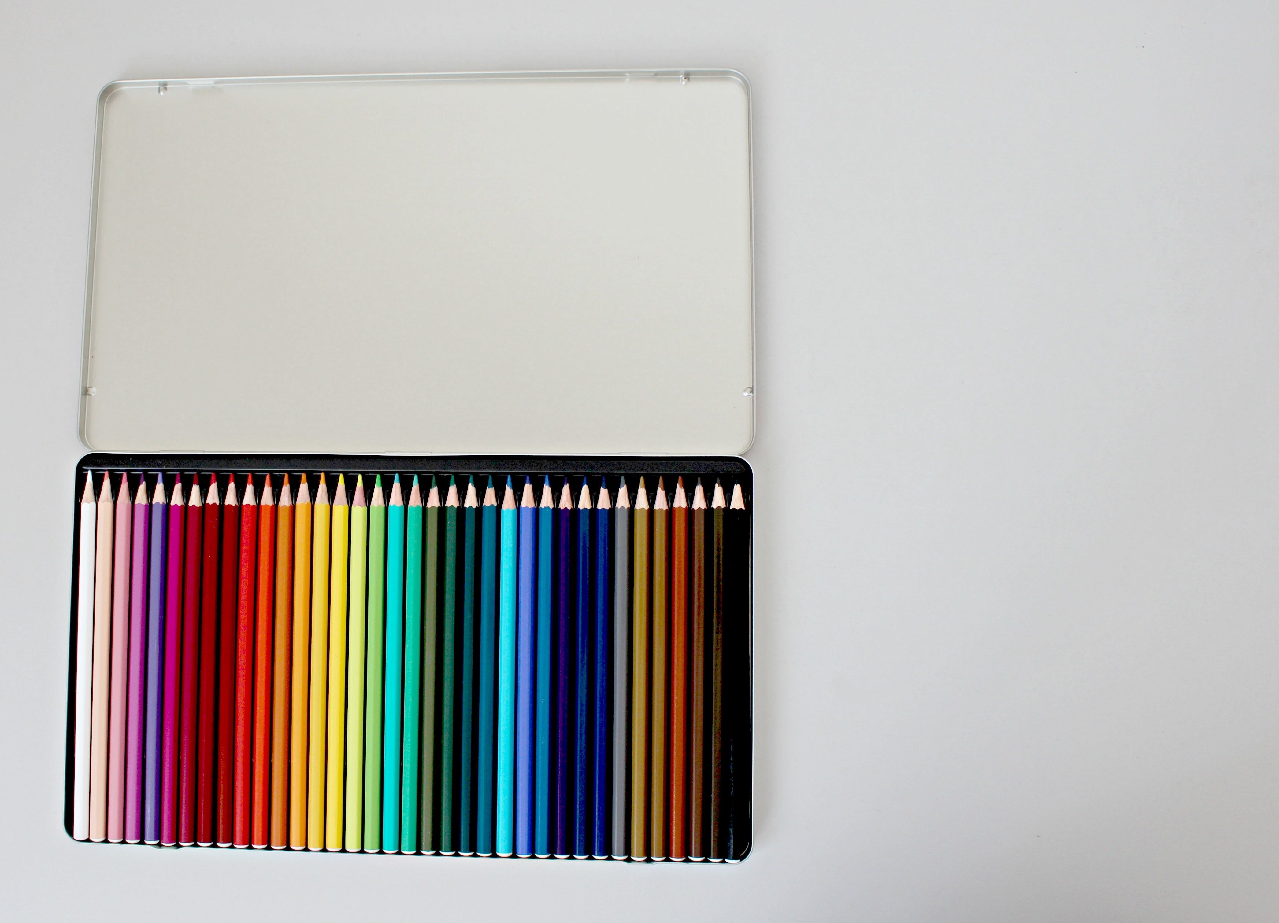 Assorted Color Pencils