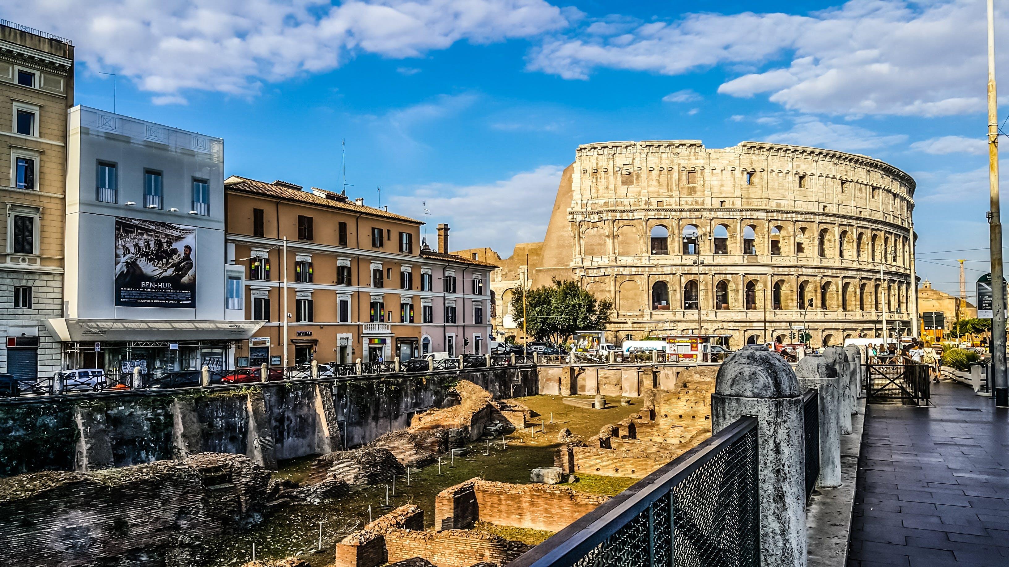 ancient, architecture, arena