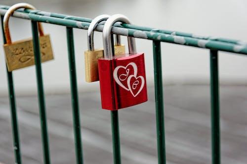 Photos gratuites de à jamais, acier, amour, cadenas