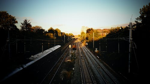 Free stock photo of train