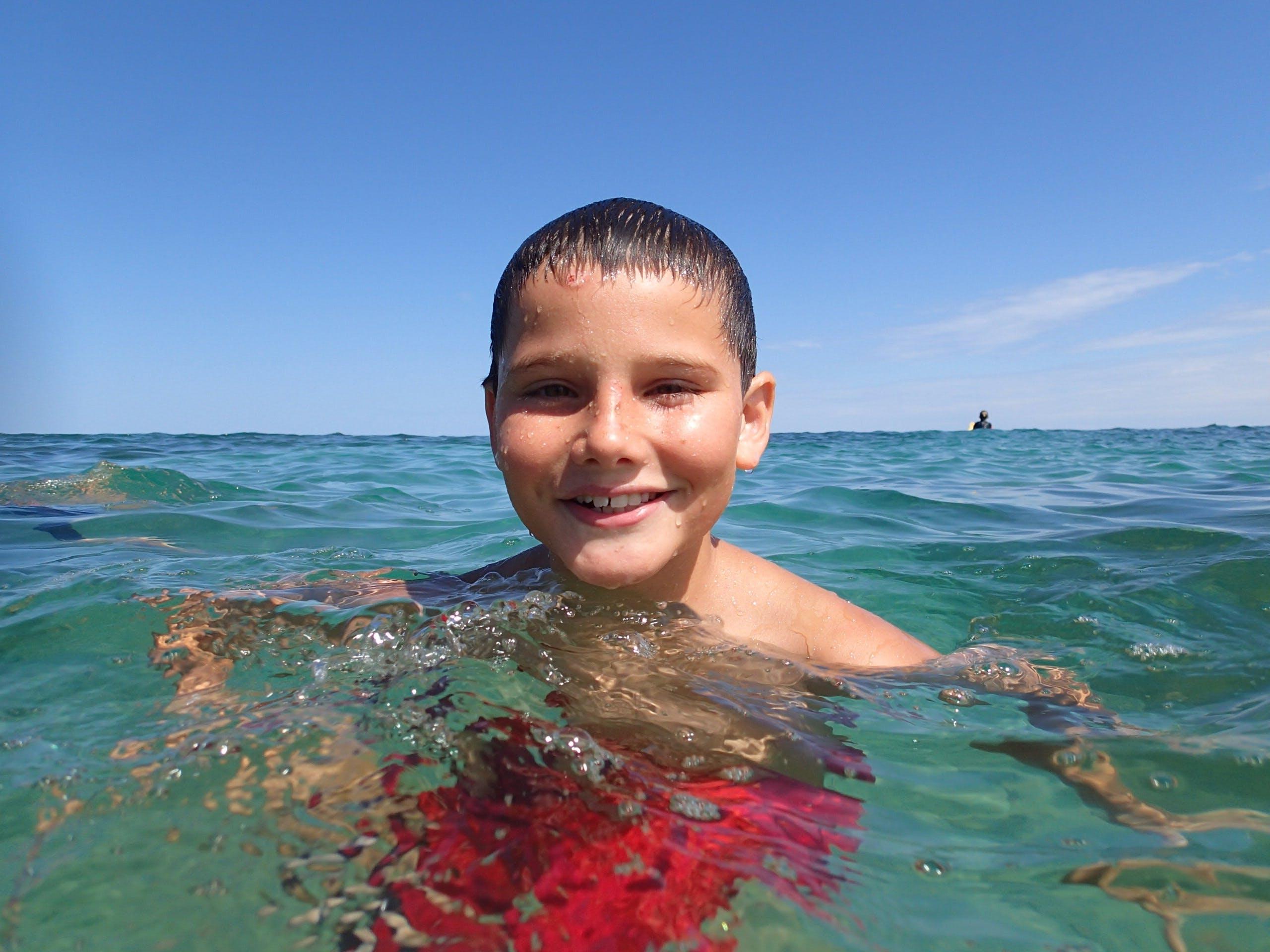 Free stock photo of water, summer, child, childhood