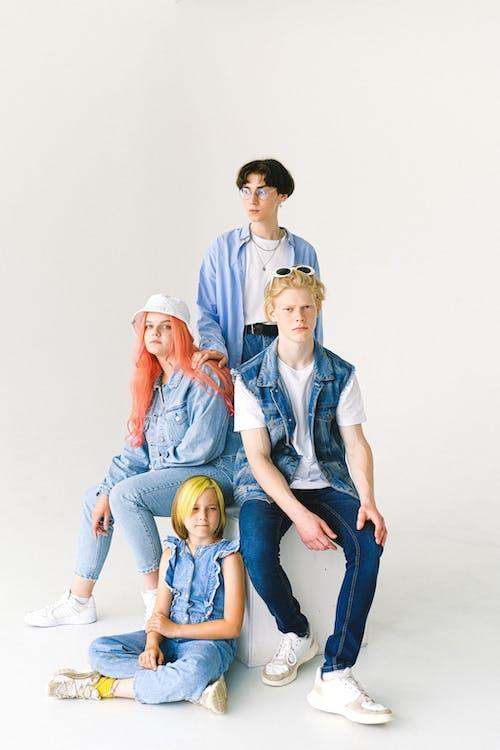 Gratis stockfoto met adolescent, blauwig, blik