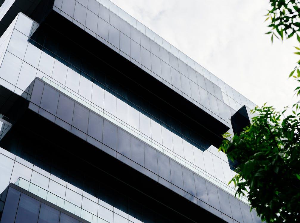 Arsitektur, bangunan, berawan