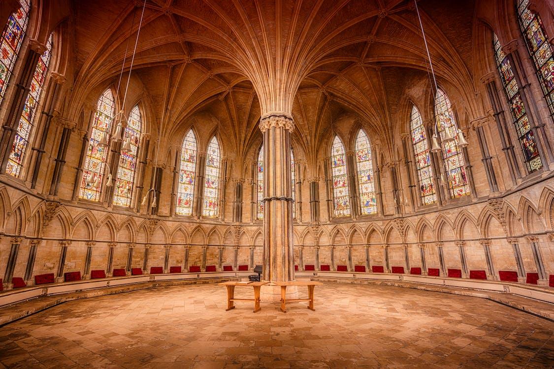 aanbidden, abdij, architectuur