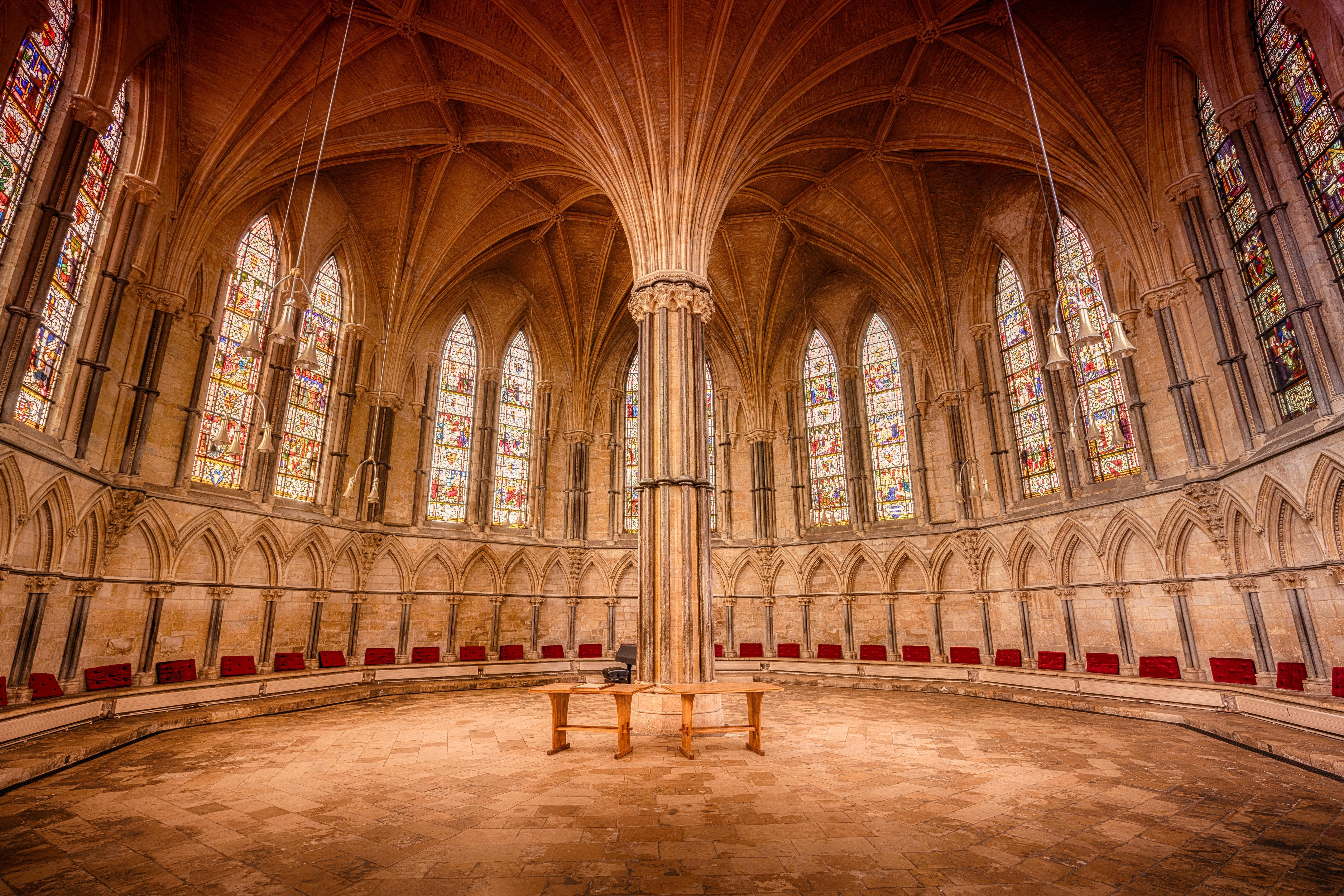 empty cathedral hall  u00b7 free stock photo