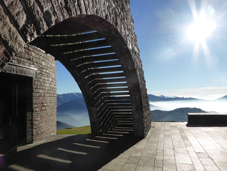 alpine, architecture, building