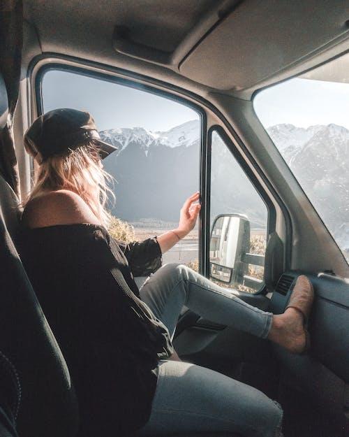 Photos gratuites de adulte, avion, chauffeur, espace extérieur