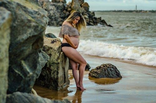 Imagine de stoc gratuită din a fi mamă, aplecare, baby bump