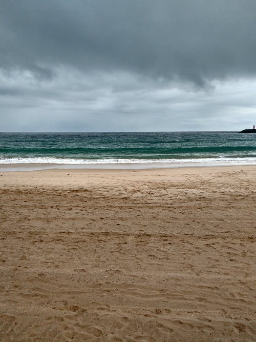 Free stock photo of beach, cloudy, mysterious, ocean