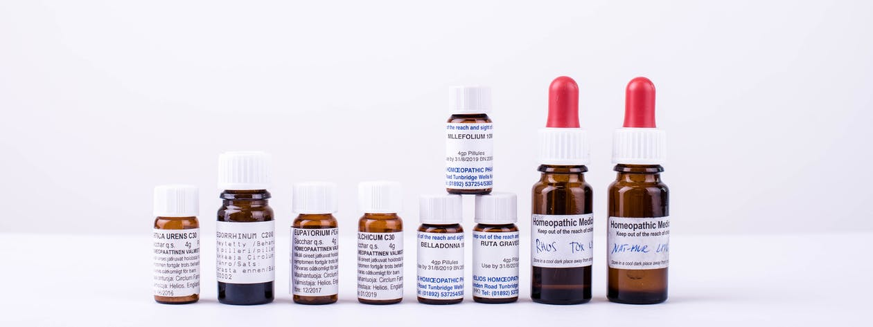 Free stock photo of bottles, homeopathy, medicine