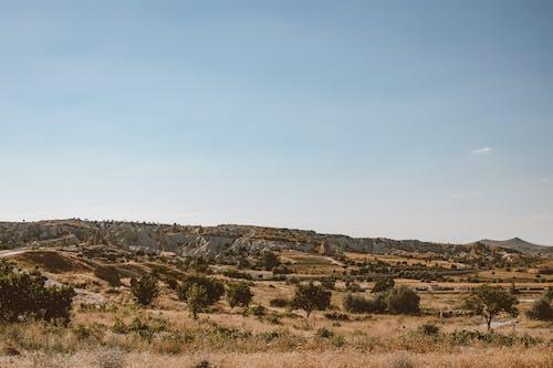 Kostenloses Stock Foto zu außerorts, berge, blaue himmel