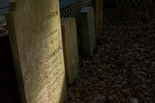 Free stock photo of gravestone, headstone, tombstones