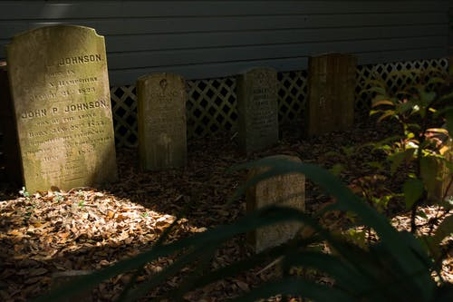 Free stock photo of gravestone, tombstones