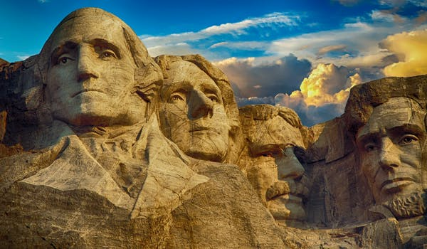 An image of Mount Rushmore