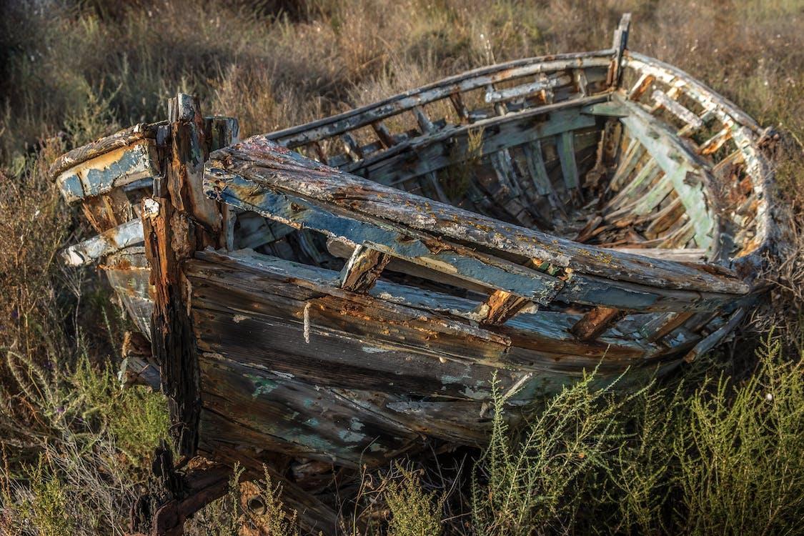 Free stock photo of abandoned, abandoned ship, abandonment