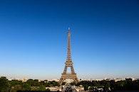 city, sky, eiffel tower