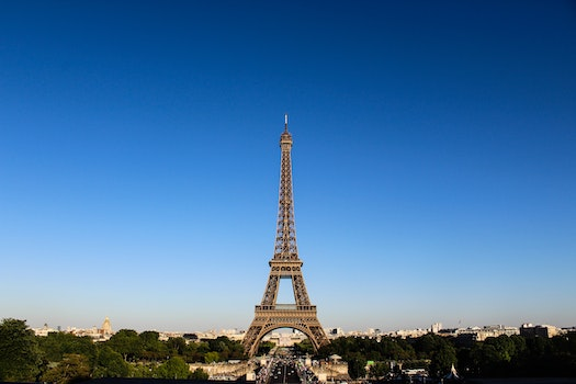 Free stock photo of city, sky, eiffel tower, france