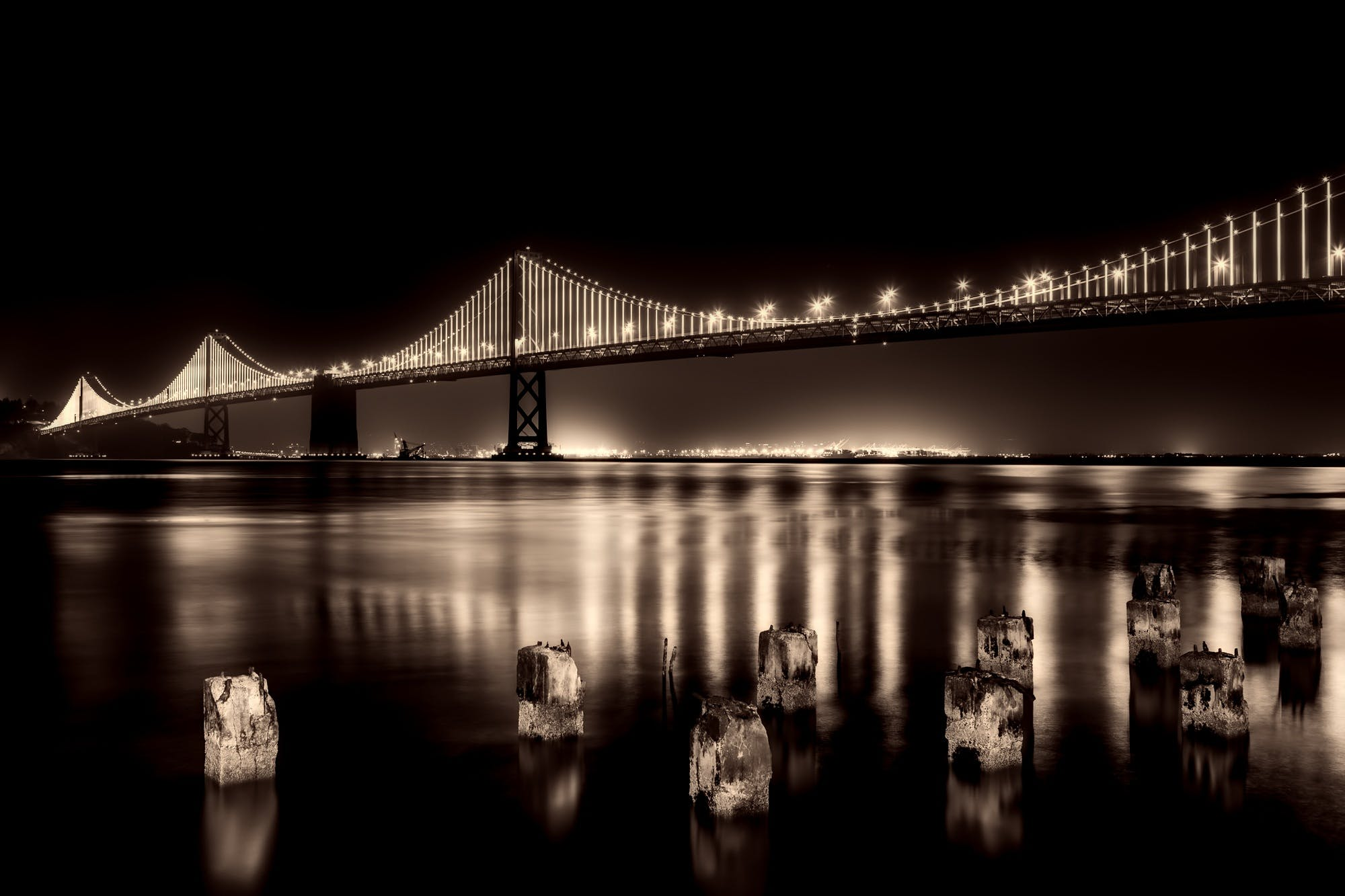 architecture, bay, Bay Bridge