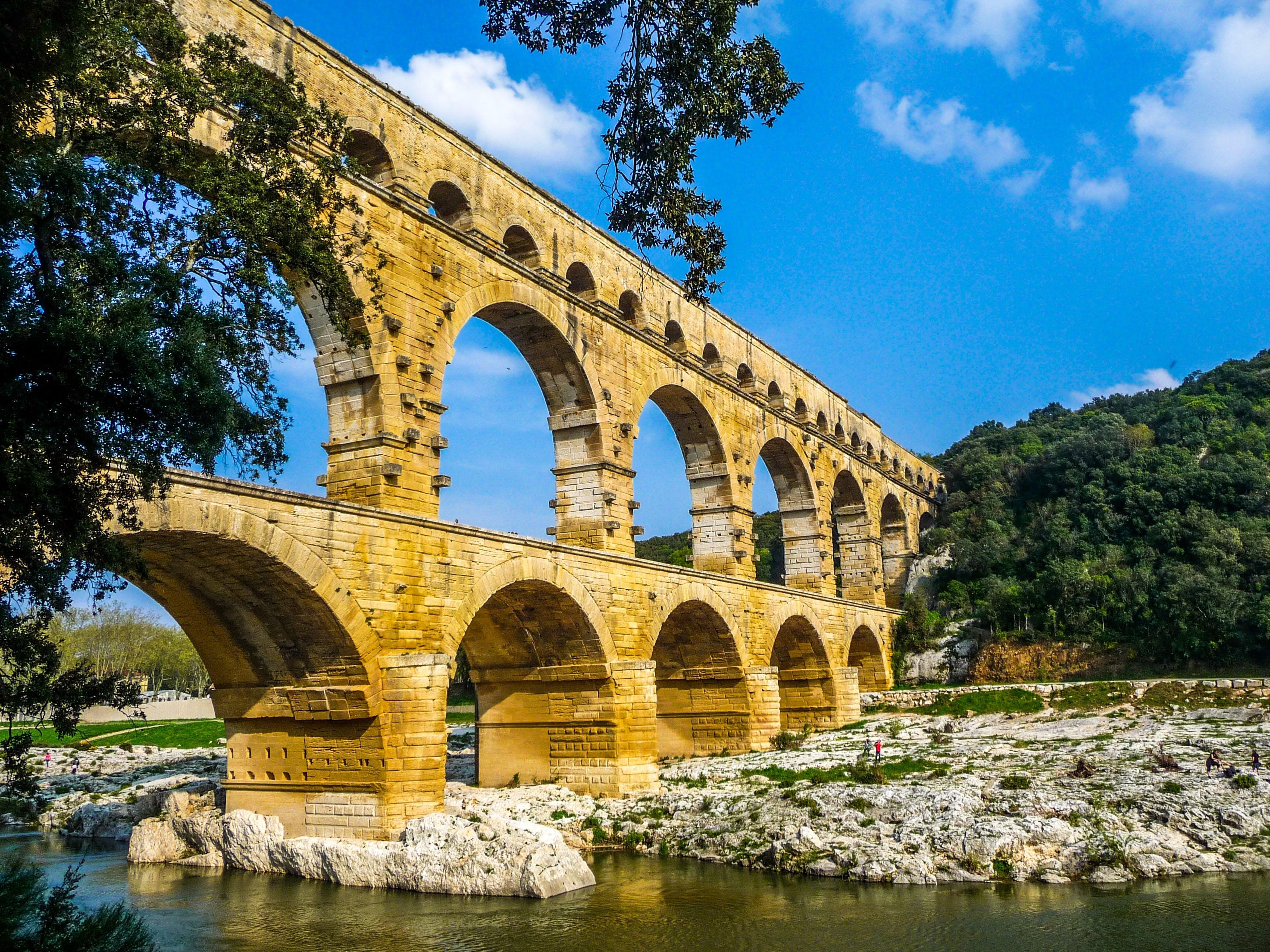 Základová fotografie zdarma na téma archeologie, architektura, cestovní ruch, francie