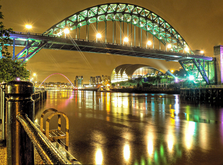 Free stock photo of landmark, lights, night, water