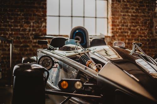 A Race Car's Suspension