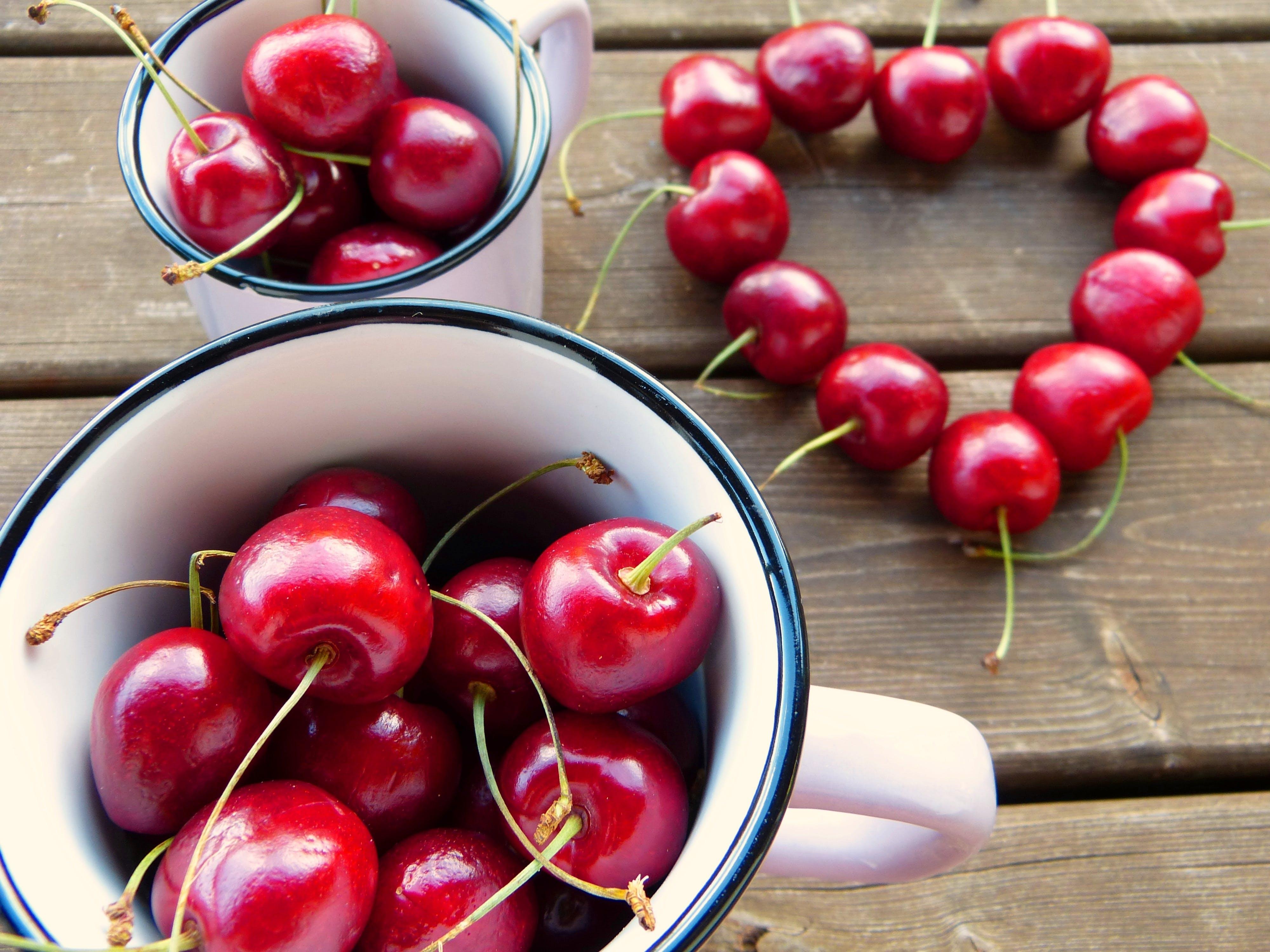 blur, cherries, close-up
