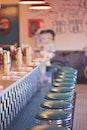 restaurant, blue, bar