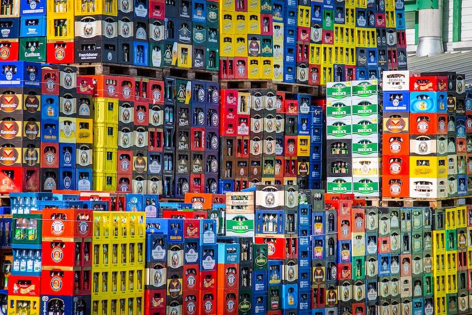 alcohol, beer, beer bottles