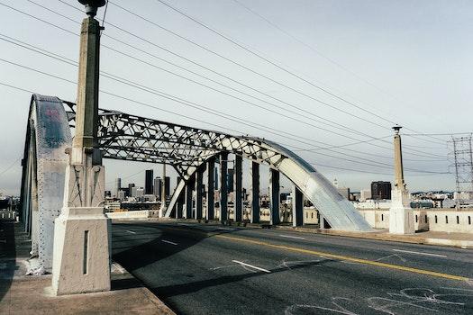 Free stock photo of street, bridge