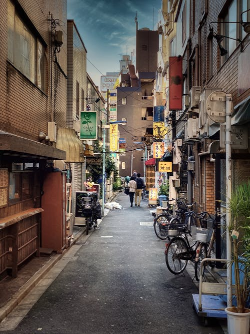 Free stock photo of alley, alleyway, anime